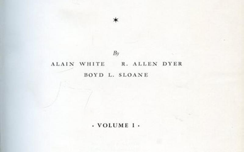 Title page of The Succulent Euphorbieae: Volume I by White, Dyer & Sloane