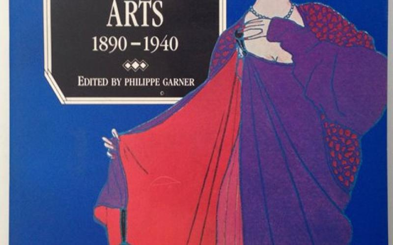 Front Cover of Phaidon Encyclopedia of Decorative Arts 1890-1940 edited by Phillippe Garner