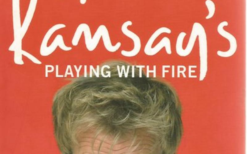 Front cover of Playing With Fire by Gordon Ramsay